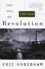Cover of: The age of revolution, 1789-1848