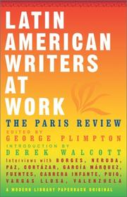 Cover of: Latin American Writers at Work
