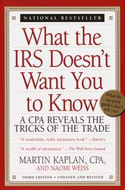 Cover of: What the IRS Doesn