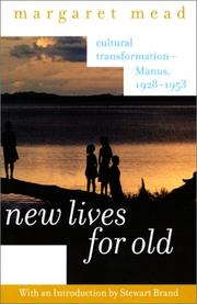 Cover of: New lives for old
