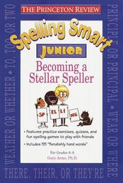 Cover of: Spelling smart junior