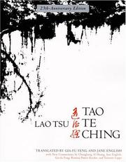 Cover of: Tao Te Ching, 25th-Anniversary Edition