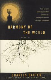 Cover of: Harmony of the world