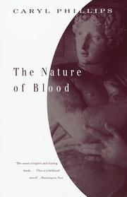 Cover of: The nature of blood