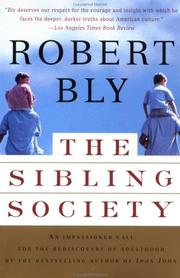 Cover of: The sibling society