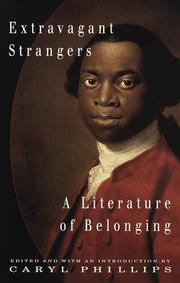 Cover of: Extravagant Strangers:  A Literature of Belonging