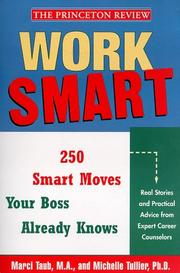 Cover of: Work smart
