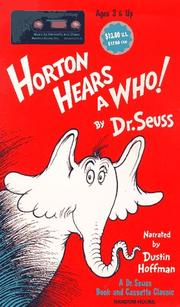 Cover of: Horton Hears a Who!