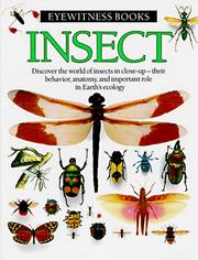 Cover of: Insect (Eyewitness Books (Knopf))