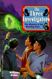Cover of: The Mystery of the Moaning Cave (Three Investigators Classics #10) | William Arden