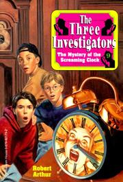 Cover of: The Mystery of the Screaming Clock (The Three Investigators No. 9)