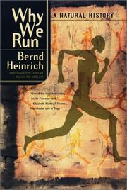 Cover of: Why We Run | Bernd Heinrich