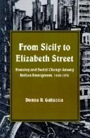 Cover of: From Sicily to Elizabeth Street