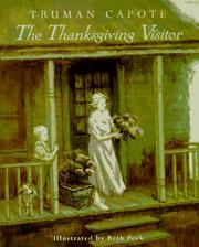 Cover of: Thanksgiving visitor | Truman Capote