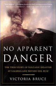 Cover of: No Apparent Danger | Victoria Bruce