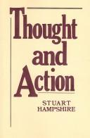 Cover of: Thought and action