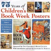 Cover of: 75 Years of Childrenªs Book Week Posters