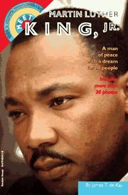 Cover of: Meet Martin Luther King, Jr. | James T. De Kay