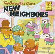 Cover of: The Berenstain Bears' new neighbors