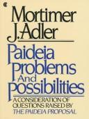 Cover of: Paideia problems and possibilities