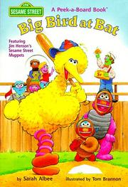Cover of: Big Bird at Bat (Peek-a-Board Book)