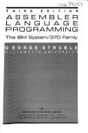 Cover of: Assembler language programming | George Struble