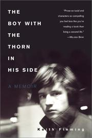 Cover of: The Boy with the Thorn in His Side