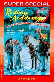 Cover of: Haunted horseback holiday | Alison Hart horse