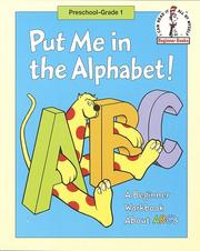 Cover of: Put Me in the Alphabet! | Robert Lopshire