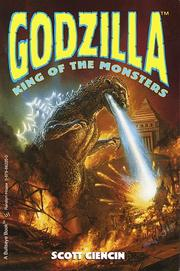 Cover of: Godzilla | Scott Ciencin