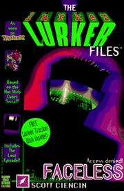 Cover of: Faceless: (Includes The Lurker Tracker disk) (Lurkers , No 1)