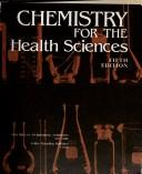 Cover of: Chemistry for the health sciences