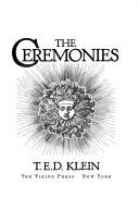 Cover of: The ceremonies