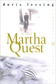 Cover of: Martha Quest
