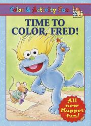 Cover of: Time to Color, Fred!