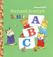 Cover of: Richard Scarry's little ABC