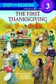 Cover of: The first Thanksgiving | Linda Hayward