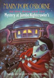 Cover of: Spider Kane and the mystery at Jumbo Nightcrawler's