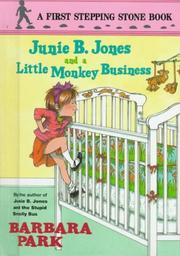 Cover of: Junie B. Jones and a little monkey business