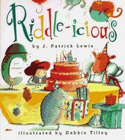 Cover of: Riddle-Icious