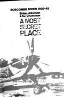 Cover of: most secret place | Johnson, Brian
