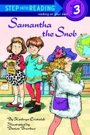 Cover of: Samantha the snob | Kathryn Cristaldi