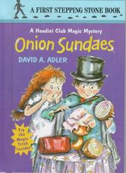 Cover of: Onion sundaes