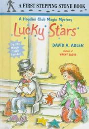 Cover of: Lucky stars | David A. Adler