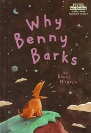 Cover of: Why Benny Barks (Step Into Reading. Step 1 Book) | David Milgrim