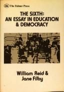 Cover of: The sixth, an essay in education & democracy