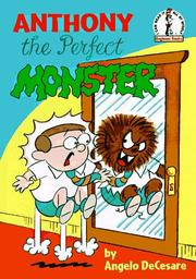 Cover of: Anthony, the perfect monster