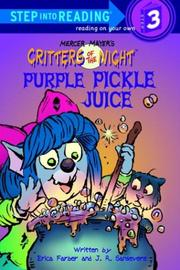 Cover of: Purple pickle juice