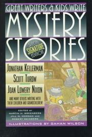 Cover of: Great Writers and Kids Write Mystery Stories |