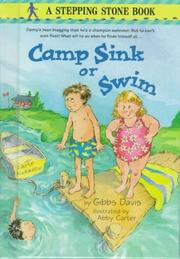 Cover of: Camp sink or swim | Kathryn Gibbs Davis